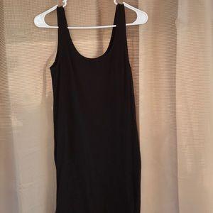 H&M Black Tank Dress